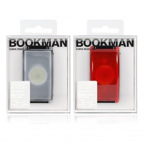 Zestaw Lampek Rowerowych - Bookman