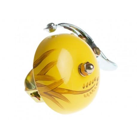 Dzwonek rowerowy - żółta jesień