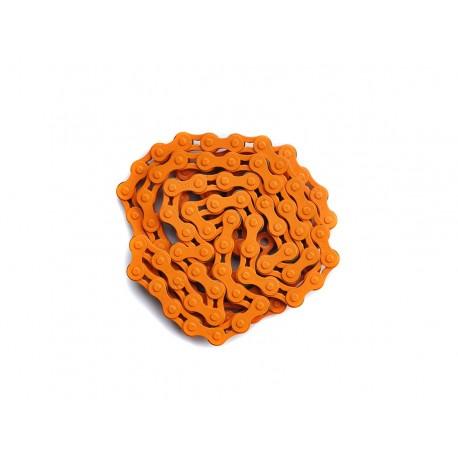 Łańcuch rowerowy - pomarańczowy