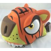 Kask dla dzieci - Crazy Safety Tygrys